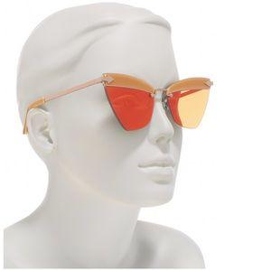 NEW Karen Walker Sadie 59mm Sunglasses